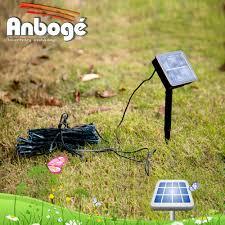 Outdoor Fairy Lights Solar by 20 Led Solar Garden Fairy Lights String Outdoor View Led Solar