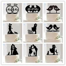 wedding cake accessories aliexpress buy 10 style optional acrylic wedding cake topper