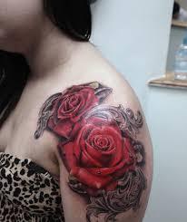 49 wonderful rose tattoo designs that will give you eyegasm 2017