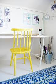 chaise bureau jaune le plus confortable fauteuil de bureau pour votre intérieur