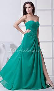 a linie herzausschnitt knielang chiffon brautjungfernkleid mit gestupft p551 bridesire teal brautjungfernkleider teal