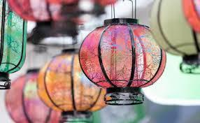 lunar new year lanterns celebrate the new year lantern festival