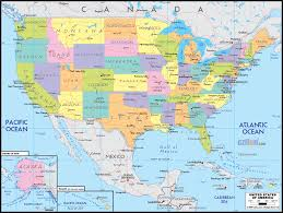 anerica map detailed political map of united states of america ezilon maps