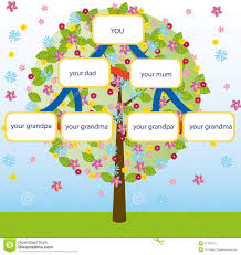 family tree vector stock vector illustration of grandparents 21730010