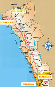 sinaloa mexico map mexico rural tourism travel with a challenge