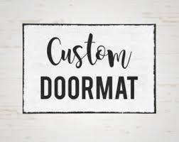 Funny Doormat Sayings Doormat Funny Etsy