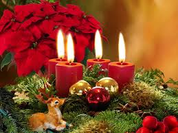 christmas candle wallpapers wallpapersafari
