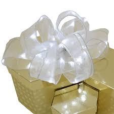 ribbon light organza ribbon light white led 8 1 2