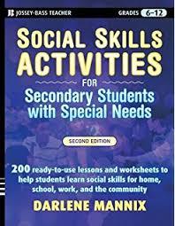 social skills activities for special children darlene mannix