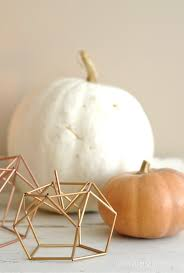 diy geometric himmeli pumpkin life is a party