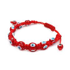evil eye beads bracelet images Evil eye fashion 1pc classic red evil eye beads bracelet red jpg