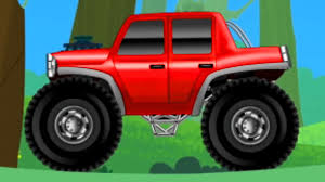 toddler monster truck videos red monster truck the big truck toy truck videos for children