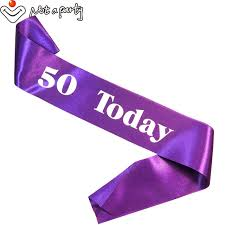 happy birthday sash online shop 7pcs birthday gift for women party decoration happy