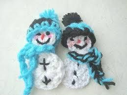 crochet a snowman ornament wmv