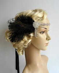art deco 1920s design the great gatsby flapper bridal fascinator