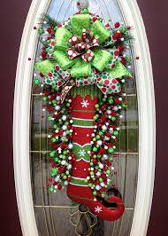 wreath door wreath teardrop by anextraordinarygift sold