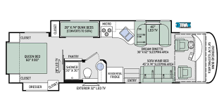 100 motorhome floor plans class a 100 motorhome floor plans
