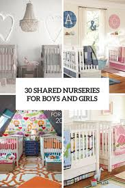 Nursery Room Decor Ideas 30 Cutest Shared Nurseries For Boys And Digsdigs