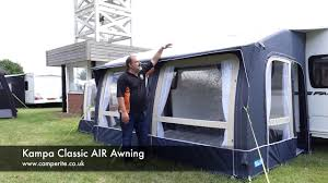 Kampa Air Awnings Kampa Classic Air Awning Review Youtube
