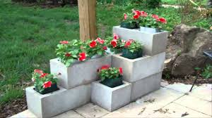 Cinder Block Decorating Ideas by Garden Captivating Image Of Accessories For Garden Landscaping