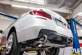 bmw 535i exhaust f10 bmw 535i magnaflow exhaust installed modauto modbargains