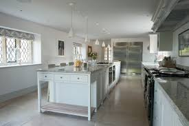 Manor House Kitchens by Modern Cotswold Manor House Restoration