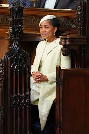 is michelle grace harry african american why did meghan markle s mother doria ragland sit alone in second row