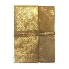 gold foil wrap leather gold foil wrap journal sugarboo co