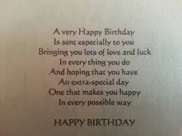 best 25 birthday verses ideas on birthday sentiments