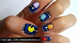 pacman nail art youtube