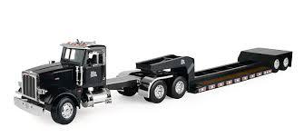 peterbilt semi trucks amazon com big farm peterbilt semi vehicle with lowboy trailer