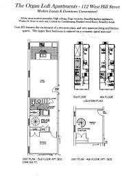 floor plans organ loft apartments