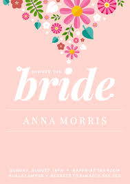 bridal invitation 19 diy bridal shower and wedding invitation templates venngage
