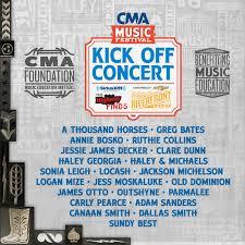 2015 cma fest kick off concert lineup announced u2013 hometown