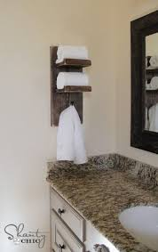 Bathroom Towel Holder Ideas Diy Towel Holder Bathroom Towel Hooks Bathroom
