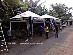Tenda Lipat Ukuran 3x3 produksi tenda jual tenda supplier tenda pameran tenda payung