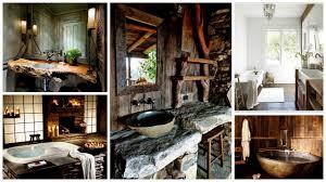 rustic bathroom ideas pictures bathroom best small rustic bathrooms ideas on cabin