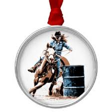 barrel racing ornaments keepsake ornaments zazzle