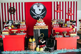 pirate theme party kara s party ideas mickey mouse pirate themed birthday party