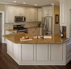 kitchen antique white kitchen cabinets with dark island designs