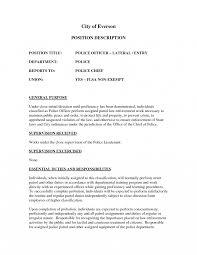 picture of resume exles officer description resume exles officer resume