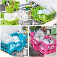 Dish Drainer 2017 Wholesale Kitchen Plastic Draining Tray Dish Drainer Drying