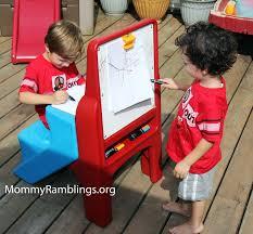 step 2 easel desk art desk easel mommy ramblings