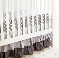 Pottery Barn Ruffle Crib Skirt Grey Tulle Crib Skirt Baby Crib Design Inspiration