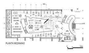 Second Floor Plan Mezanino Second Floor Plan Livraria Cultura Sao Paulo
