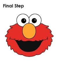 elmo painting sesame elmo coloring page hm coloring pages
