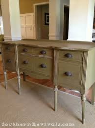 Sideboard And Buffets by Updating A Vintage Sideboard Buffet With A Pop Of Color Southern