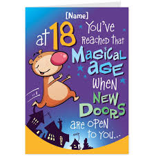 18th birthday ecard funny saflly free printable postcard and