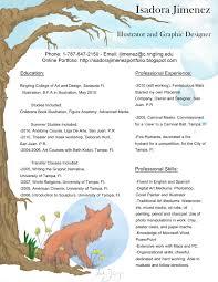 Narrative Resume Illustration Resume Resume For Your Job Application