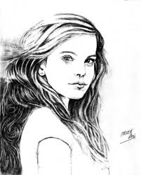 pencil drawing of beautiful lady pencil sketches of women faces